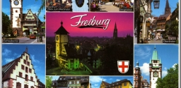 Postcrossing 3: Freiburg, Germany