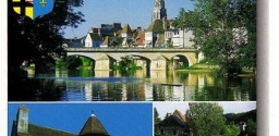Postcard Series 20: Argenton Sur Creuse, Central France